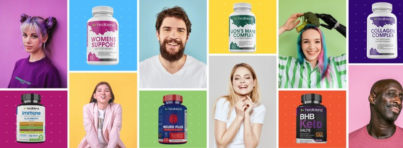Healblend Collagen and More With the Types