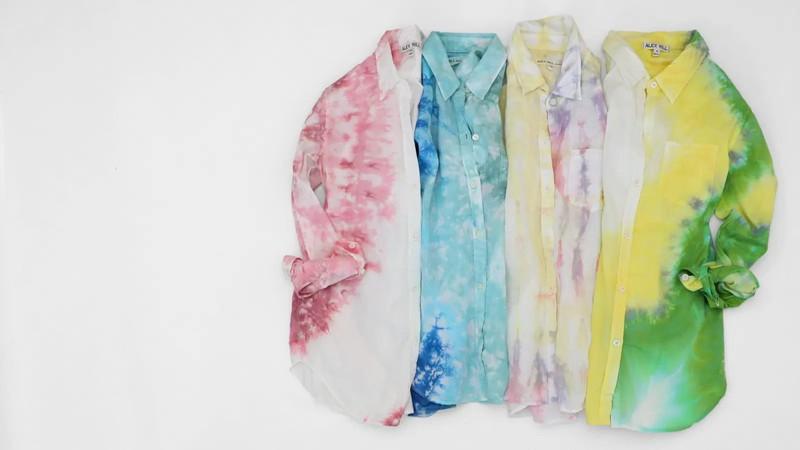 An Exquisite Range of Trending Tie-Dyes